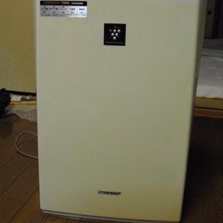 SHARP プラズマクラスター搭載 空気清浄機 ホワイト系 FU...