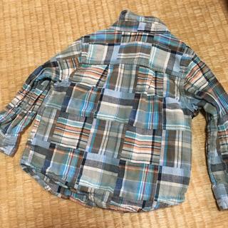 チェックシャツ 95cm