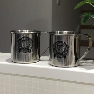 マグカップ2個 ステンレス製 アウトドア フェニックスブランド ...