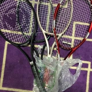 テニスラケット 4つセット ウィンブルドン ヨネックス ウ…