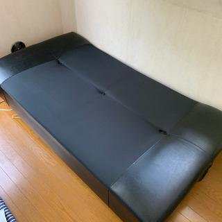 【無料配送】ソファーベッド 180cm 足付き 取り外し可能 シ...