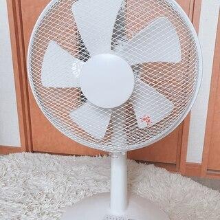 山善 30cmリビング扇風機 (風量3段階) タイマー付 ホワイト