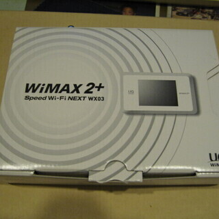 UQ WiMAX WiMAX2+ Speed Wi-Fi NEX...