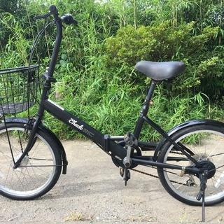 ノーパンク折りたたみ自転車 CHACLE 20インチ ブラック