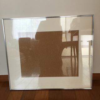 額縁[美品]58cm×50cmお子さんのイラストや写真を飾…