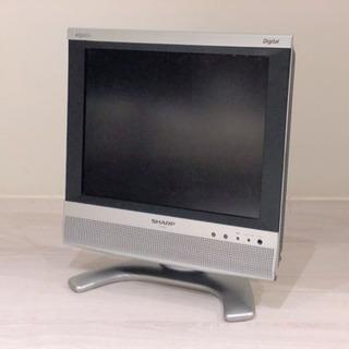 【引き取り限定】シャープ 13型液晶カラーテレビ