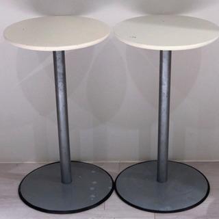 【引き取り限定】丸テーブル(2セット)