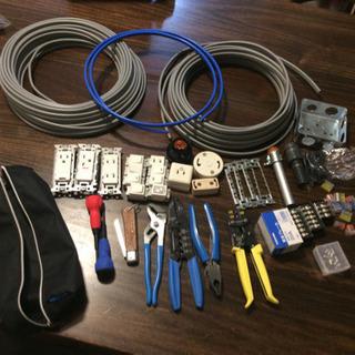 第二種電気工事士試験 技能試験用練習材料・工具セット 中古