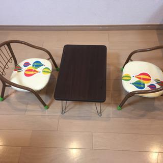 子供用 豆椅子 ミニテーブル 折りたたみテーブル