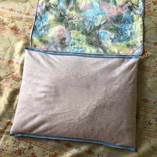 ヒノキ枕 新品 カバー付き