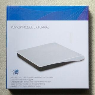 新品未使用未開封品 外付け USB3.0 POPUP スーパーD...