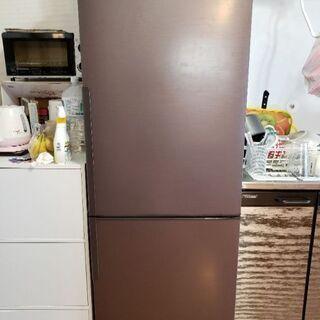 【SHARP冷蔵庫】SJ-PD27D-T ノンフロン冷凍冷蔵庫