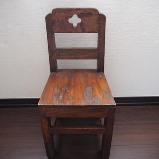 小さい椅子 ミニチェア アジアン