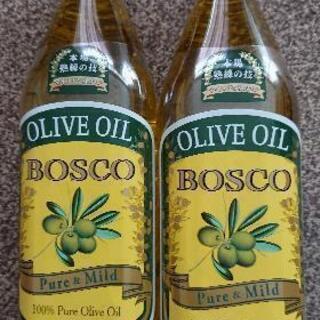 未開封 BOSCO オリーブオイル684㌘ 2本組
