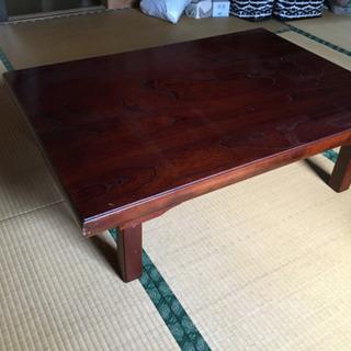 座卓、テーブル差し上げます