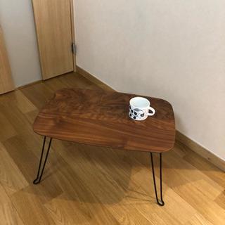 小型折りたたみコーヒーテーブル ユーズド美品