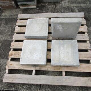 コンクリート平板; コンクリート色 30*30*厚さ6cm 新品...