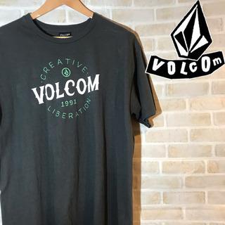 【90s】VOLCOM ボルコム ビッグロゴ  Tシャツ カットソー