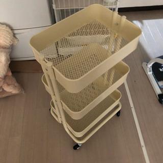 IKEA ワゴン クリーム色