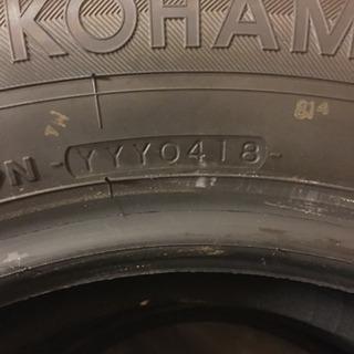 新車はずし純正タイヤ 195/65R-15