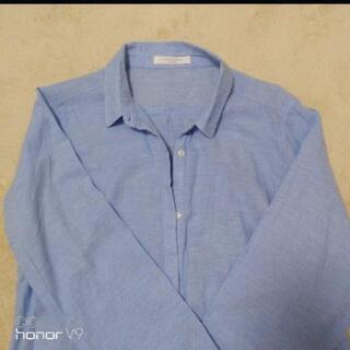 ブルー シャツ