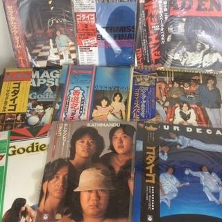 レコード ゴダイゴ LP EP タケカワ ユキヒデ トミー スナ...