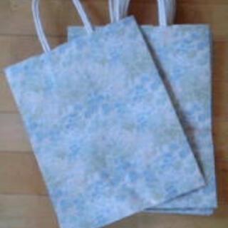 和風柄手提げ紙袋8枚(法事使用可)