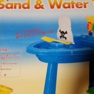 砂&水遊びテーブル