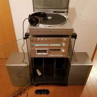 VICTER製 オーディオフルセット 1981年製 総額18万相当