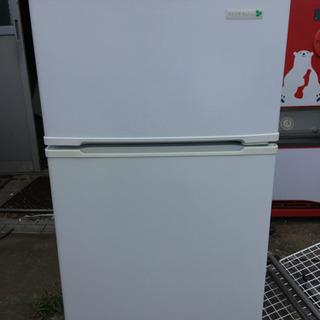 冷蔵庫 2017年製 2ドア YAMADA YRZ-c09B1 90L