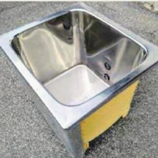 ❷ステンレス浴槽⚫ペットの飼育~畑の水溜に⚫現場撤去品❷