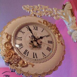 姫系ハンギング時計