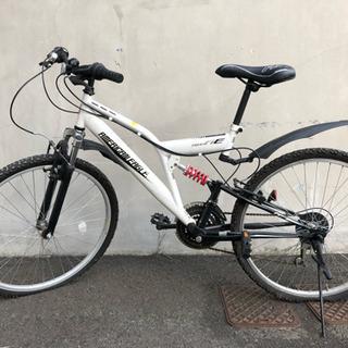 値下げ可能  自転車  両タイヤパンク