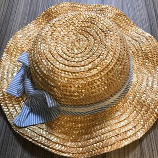麦わら帽子 ストローハット 52cm