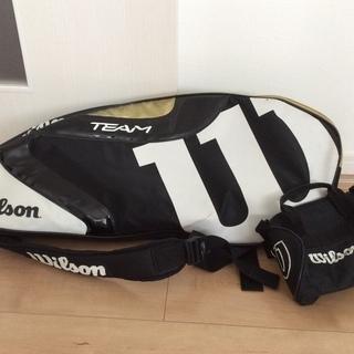 テニス Wilson   ラケットバッグ  &  ミニショルダーバッグ