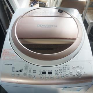 送料込み2万!! TOSHIBA AW-8V2M 8キロ洗濯機