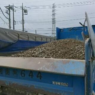 リサイクル砕石砂利(RC40)、10tダンプで配達いたしま…