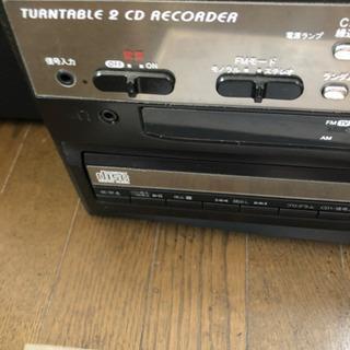 CD レコード カセット プレイヤー