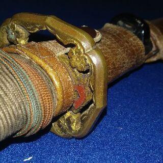 昭和十三年制定陸軍制式軍刀拵(外装のみ、中身の刀身はありません)