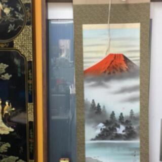 赤富士掛け軸掛軸