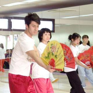 元日本代表選手が教える「扇 上級」レッスン(90分)¥2,500
