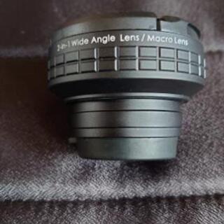 AUKEYスマホ用レンズキット ワイド+マクロ クリップ式