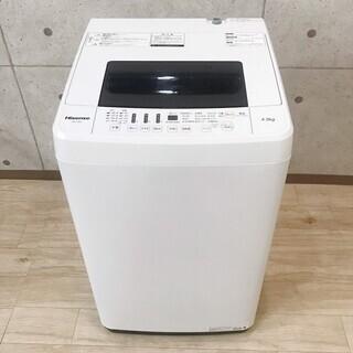 ハイセンス 洗濯機 HW-T45C 4.5kg 2018年製 H...