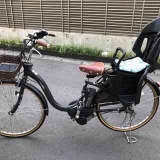 ヤマハ電動自転車 OGKチャイルドシート付き 26インチ