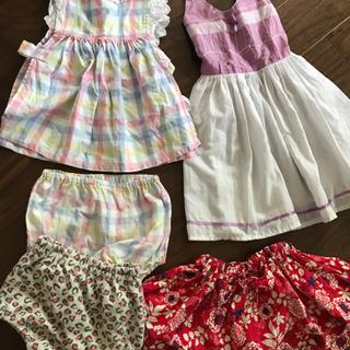 子供服 1歳前後〜2歳くらい(女の子)