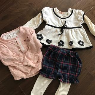 子供服 80,90サイズ(秋冬女の子)
