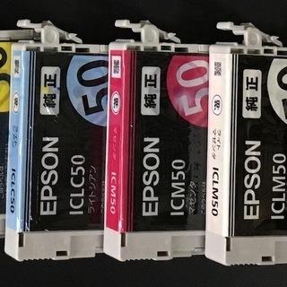 EPSON 純正インク 6色セット ほぼ未使用品