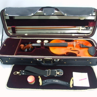 メンテ済み ドイツ製 Franz Sandner 1993年 フランツ サンドラー バイオリン 4/4 Archet弓 角型ケース 定価30万 手渡し 全国発送対応 中古バイオリン 愛知県清須市より - 売ります・あげます
