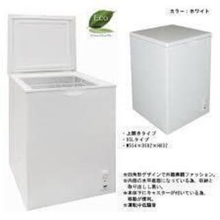 エスケイジャパン SFU-A100 上開き1ドア冷凍庫 95L