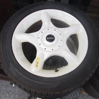 ミニクーパー 純正ホイール 16インチ ダンロップタイヤ…